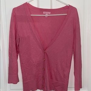 Pink Lily Pulitzer cardigan